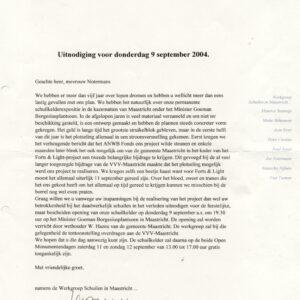 5. Uitnodiging 2004